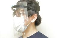 有供日本製造3D印刷製造傳染病、飛沫防止使用的臉盾構·口罩透明新型冠狀病毒肺炎病毒對策庫存 auc-himitsukichi