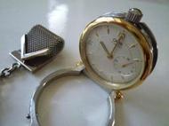 瑞士*ORIS 7456旅人座鐘/口袋懷錶(SWISS MADE手上鍊機械錶)