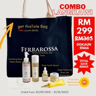 💥💯 NEW FERRAROSSA COMBO LANGKAWI SKINCARE SET!! ORIGINAL FROM HQ 💥WHILE STOCK LAST WITH FREE TOTE BAG LIMITED EDITION