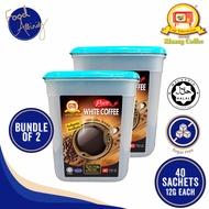 [Kluang Coffee] Kluang Coffee Cap TV Pure White Coffee 40's 12gm x 40 sachets - Bundle of 2