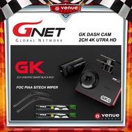 GNET GK 4K DASH CAM 2CH UTRA HD / FULL HD