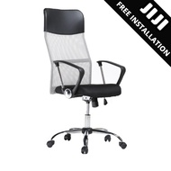 JIJI Office Chair Secretary Chair (Free Installation) - Office chairs /Study chair/Gaming chair/Ergonomic/ Free 12 Months Warranty (SG)