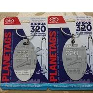 全美航空 A320 薩利機長:哈德遜奇蹟 PLANETAGS 飛機蒙皮鑰匙圈