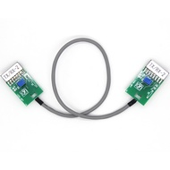 Duplex Repeater Interface Cable Talkthrough Repeater Cable for Motorola Radio EM200 CDM1550
