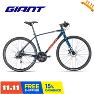 Giant Escape 2 leisure sports introduction fitness adult male 21 speed flat handle road bike Q h
