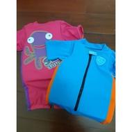 🏊♂️speedo 兒童泳衣 浮力衣 15-18kg/18-22kg