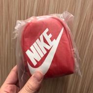 全新Nike 皮質拉鍊鑰匙圈零錢包 /小包包/萬用包