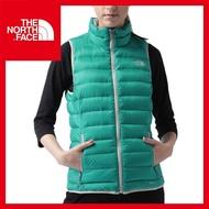 【The North Face 女 700 fill 羽絨背心《海島綠》】CUB8/保暖背心/抗寒/休閒/戶外