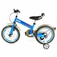 英國Mini Cooper 兒童腳踏車16吋-激光藍★愛兒麗婦幼用品★