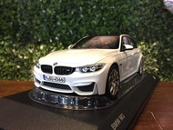 1/18 Norev BMW M3 F80 2016 Mineral White 80432411552【MGM】