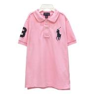 Ralph Lauren 童裝數字3經典大馬短袖POLO衫