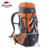 NatureHikeกระเป๋าเป้สะพายหลังขนาดใหญ่70L,กระเป๋าเป้สำหรับทำกิจกรรมนอกบ้านพร้อมระบบรองรับการตั้งแคมป์และระบบการตั้งแคมป์กระเป๋าปีนเขาสามารถใส่สิ่งของได้หลายโอกาสเช่นเดินป่าปีนเขาเดินป่าปีนเขาเดินป่าตั้งแคมป์หรือตั้งแคมป์ด้วยระบบการตั้งแคมป์ของคุณ