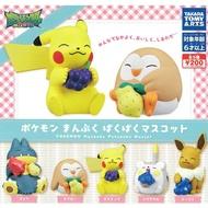 全套5款【日本正版】寶可夢 飽食公仔 扭蛋 轉蛋 神奇寶貝 托格德瑪爾 卡比獸 TAKARA TOMY - 874512