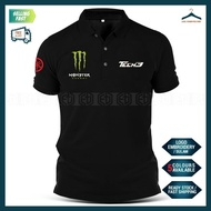 [HOT] Polo T Shirt Yamaha Monster Sulam MotoGP Motorcycle Motosikal Superbike Racing Team Casual Y125Z Y15 RXZ TZM SRL
