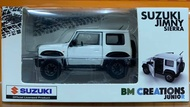 ☆勳寶玩具舖【現貨】BM Creations 018 SUZUKI JIMNY (JB74) 1/64 左駕 白色