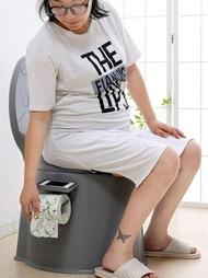 加高加厚成人可行動馬桶孕婦坐便器便攜式痰盂老人尿桶尿盆尿壺椅ATF