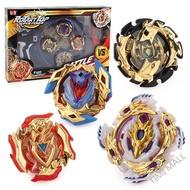 競技戰鬥盤陀螺套裝4件組 4顆陀螺 聖劍發射器 雙向發射器 一握把 2個拉繩 1陀螺盤 聖誕節禮物 兒童玩具
