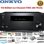 Onkyo A/V Receiver TX-RZ830 9.2 Channel THX 180 Watts/Channel