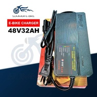 【Cash on delivery】 Ebike Battery Charger 48v 32ah Output 48v 4ah Compatible with Nwow Romai Jonson