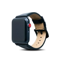Alto Apple Watch 皮革錶帶 42/44mm-渡鴉黑