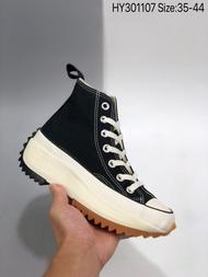 2020 ล่าสุด สต็อกพร้อม ขายร้อนJW Anderson x Converse Run Star Hike sports shoes classic Leisure shoes for men amd women genuineรองเท้าผ้าใบผญ Canvas shoes