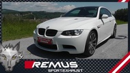 【樂駒】BMW E92 E90 M3 REMUS S65  中尾段 排氣管 引擎 適用機械增壓 改裝 套件 精品