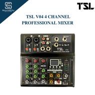 TSL V04 4 Channel Professional Mixer