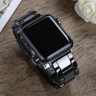 สำหรับ Apple Watchiwatch5/6สายรัดapplewatchเซรามิค3/4S2โซ่seโลหะสแตนเลส40/44mm42แบรนด์ไทด์seriesSใส่ได้ทั้งชายและหญิง1แฟชั่นใหม่38สร้างสรรค์