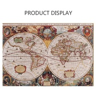 1000 Pcs/set  the old world map puzzles Spot POTATO pearlescent version Jigsaw Puzzle adult restoring ways toys for kids
