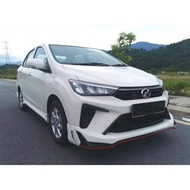 Perodua Bezza 2020 Drive68 Drive 68 Bodykit Skirt CAT or NO CAT