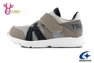Moonstar 月星 Tsukihoshi 日本機能鞋 中童 可機洗運動鞋 I9644#灰色◆OSOME奧森鞋業