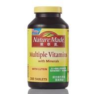 好市多專職代購-Nature Made 萊萃美綜合維生素加葉黃素錠 300錠