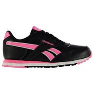 [REEBOK] Kids Classic Glide Girls Ortholite Everyday Shoes Trainers Sneakers