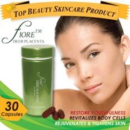 Fiore Deer Placenta 30 soft-gels - Look and feel young again! The secret to anti-aging!