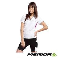 【歐盛達自行車】《MERIDA》 美利達 LADY魅力PRO女短自行車褲 黑/白