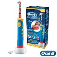 【贈牙膏】 【德國百靈BRAUN】歐樂B 迪士尼充電式兒童電動牙刷 D10 閃電麥坤