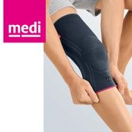 medi 專業醫療護具 多功能矽膠護膝 時尚黑 (I~VII,單只) 德國進口