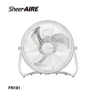 【Qlife質森活】SheerAIRE席愛爾|18吋DC變頻超省電可壁掛遙控工業扇FN181白金剛