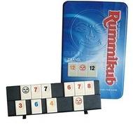 含稅附發票 拉密數字牌 鐵盒旅行版 中文版 Rummikub Tin Mini 方舟風雲會益智桌遊  實體店正版