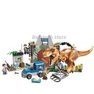 10758 Lego T. Rex Breakout Building Blocks Jurassic World Dinosaurs Tyrannosaurus 168pcs Blocks Toy Gifts Jurassic Park 10920