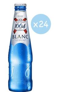 市集啤酒 - 1664 法國直送 白啤酒- 原箱 (細樽裝 - 24 x 330ml)