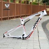 JAVA mountain bike frame carbon fiber soft tail 27.5 inch mountain bike frame