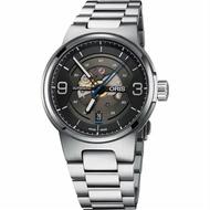 ORIS 豪利時 0173377164164-0782450 賽車系列 簡約日期運動腕錶 / 黑面 42mm