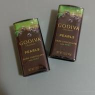 Godiva 頂級珍珠鐵盒巧克力球 薄荷 巧克力球