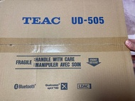 代購款 TEAC UD-505 USB DAC/耳擴/前級/藍牙/數位流播放器 保固一年