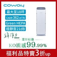Coway 福利品 AP-1216L直立型抗敏型空氣清淨機 一年保固現貨 免運 流感 病毒 塵螨