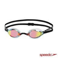 【SPEEDO】成人競技鏡面泳鏡 SPEEDSOCKET(白)