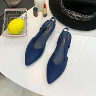 รองเท้าคัชชูยางรัดส้น รองเท้าสุภาพสตรี รองเท้าคัชชู