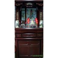 大溪佛櫥  神桌 半實木 圓滿型 3尺6