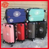 Laz Bag [ขยายได้ + ซิปกันกรีด] กระเป๋าเดินทาง ขนาด 20 24 29 นิ้ว กระเป๋าล้อลาก กระเป๋าเดินทางล้อลาก กุญแจล็อครหัส 2 วัสดุ ABS/PC